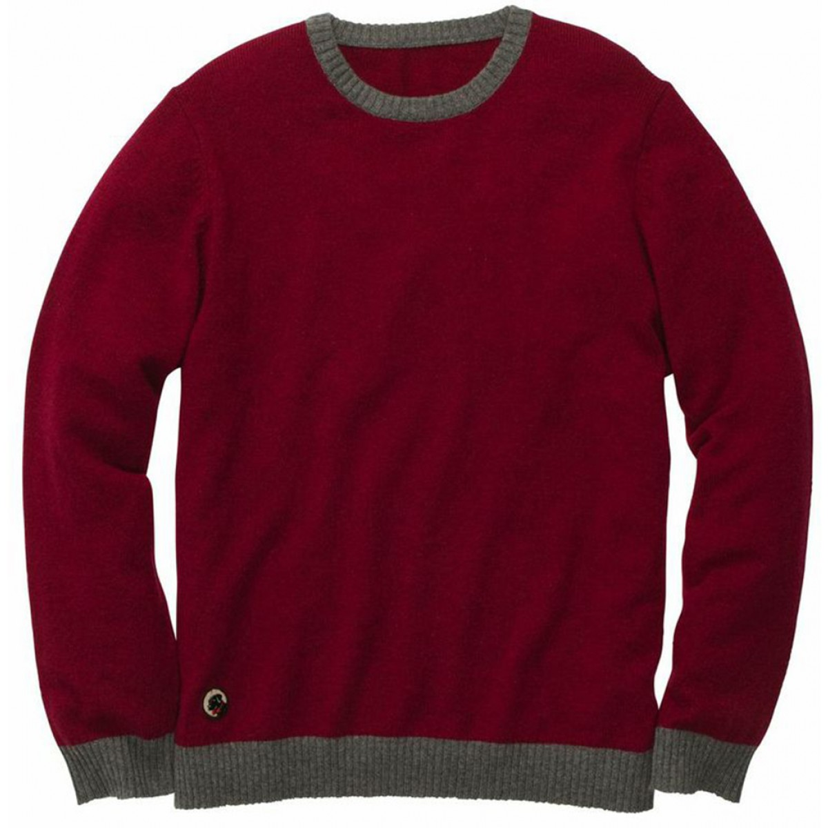 Let-Her Sweater - Crimson